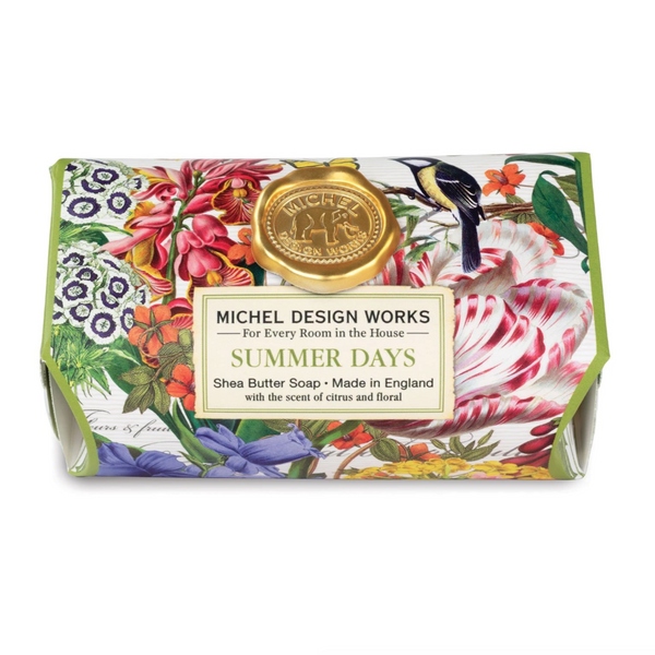 Michel Designs Summer Days Large Bar Soap