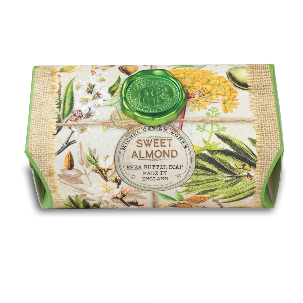 Michel Designs Sweet Almond Large Bar Soap