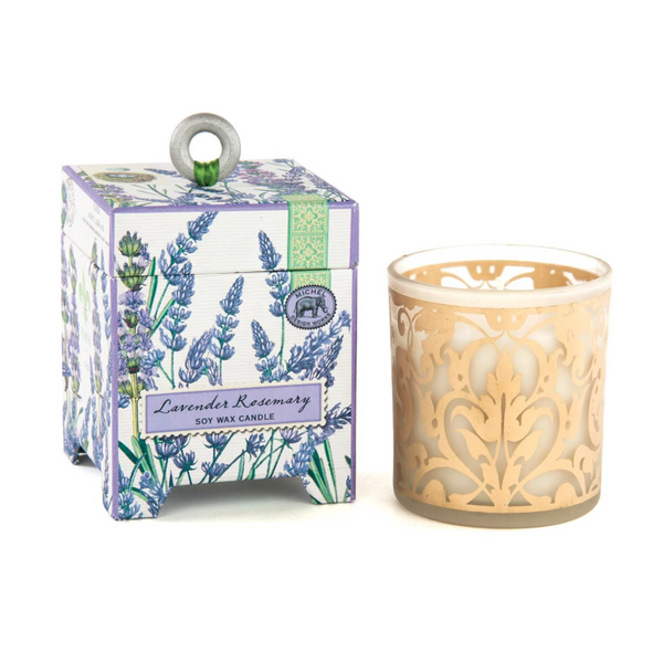 Michel Designs Lavender Rosemary 6.5oz Candle