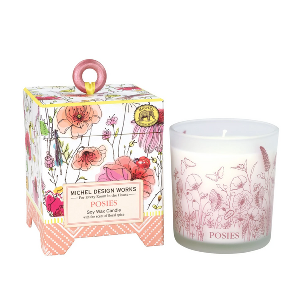 Michel Designs Poises 6.5oz Candle