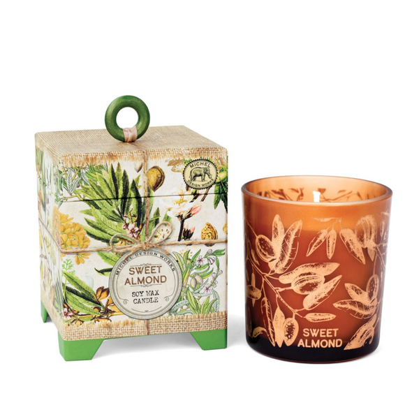 Michel Designs Sweet Almond 6.5oz Candle