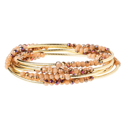 Wrap Bracelet - The Beauty Of What You Love