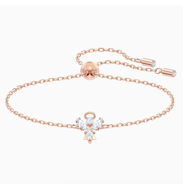 Swarovski Angel Magic Bangle - Rose Gold