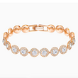 Swarovski Angelic Bracelet - Rose Gold + White