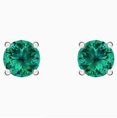 Swarovski Attract Studs - Emerald