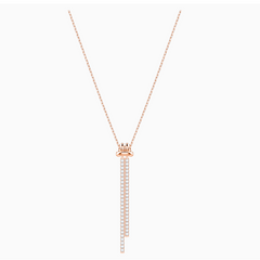 Swarovski Lifelong Necklace - Rose Gold