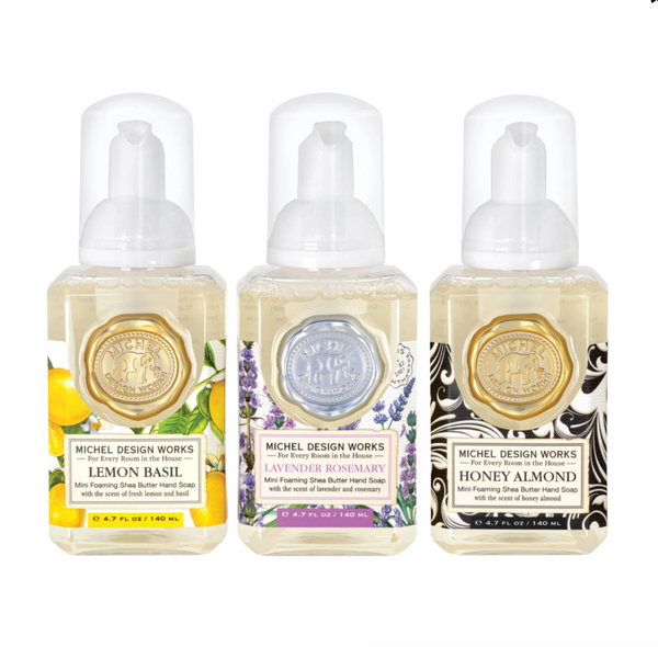 Michel Designs Set of 3 Mini Foaming Hand Soaps