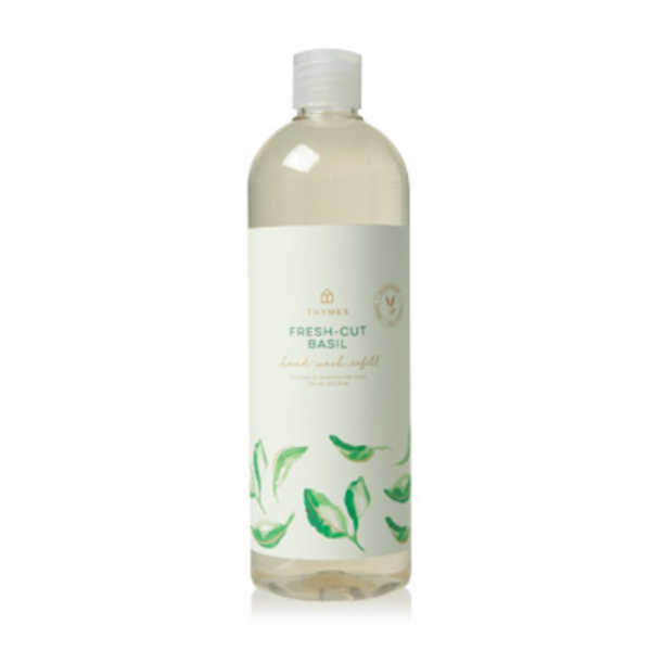Thymes Fresh Cut Basil Hand Wash Refill