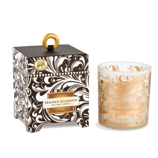 Michel Designs Honey Almond 6.5oz Candle