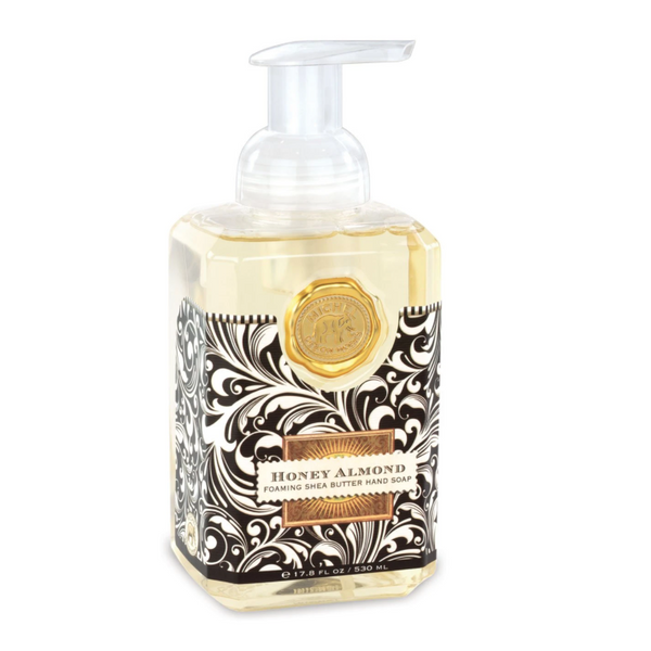 Michel Designs Honey Almond Foaming Hand Soap
