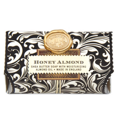 Michel Designs Honey Almond Large Bar Soap