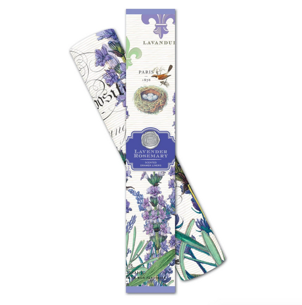 Michel Designs Lavender Rosemary Drawer Liners