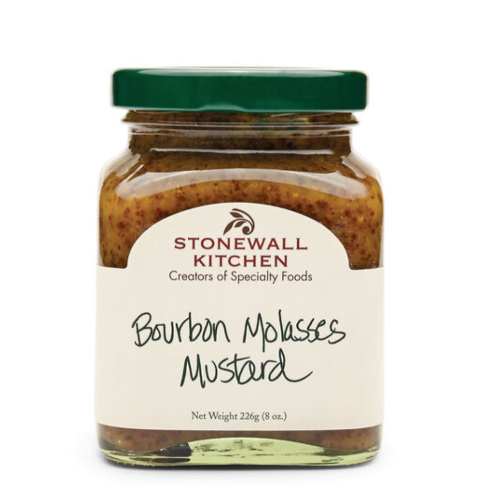 Stonewall Bourbon Molasses Mustard