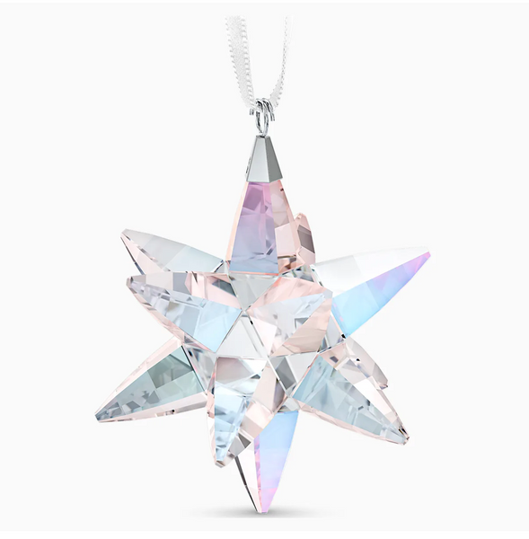 Swarovski Shimmering Star Ornament - Medium