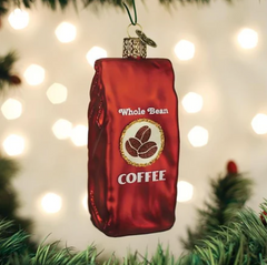 Old World Christmas Coffee Beans Ornament