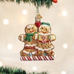 Old World Christmas Gingerbread Friends Ornament