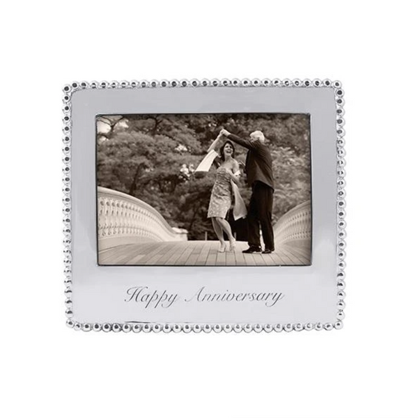 Mariposa Happy Anniversary Beaded Frame