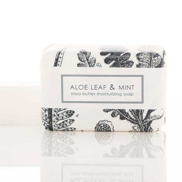 Formulary 55 SHEA BUTTER BATH BAR - ALOE LEAF & MINT