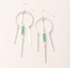 Dreamcatcher Earring - Assorted Colors
