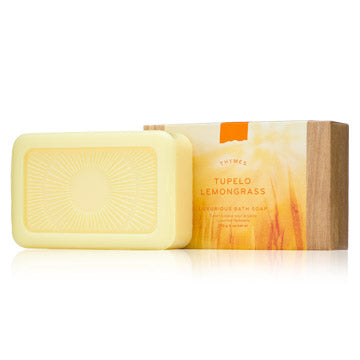 Thymes Tupelo Lemongrass Bath Soap Bar