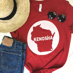 Kenosha Star Tee Red