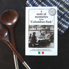 A Taste Of Memories From Columbus Park Cook Book