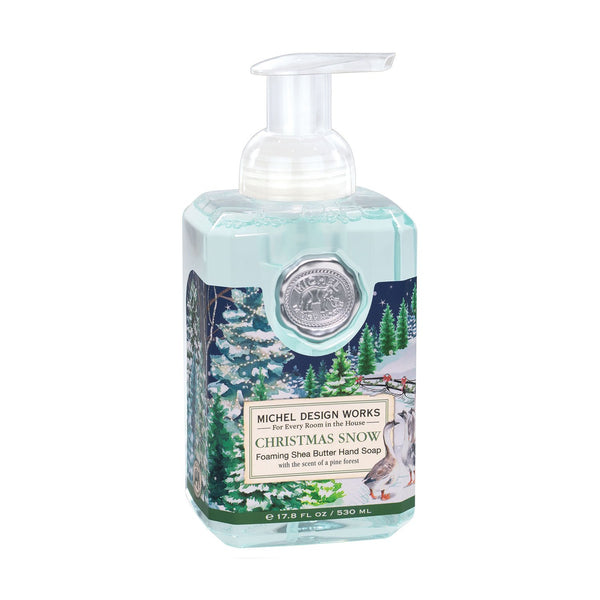 Michel Designs Christmas Snow Foaming Hand Soap