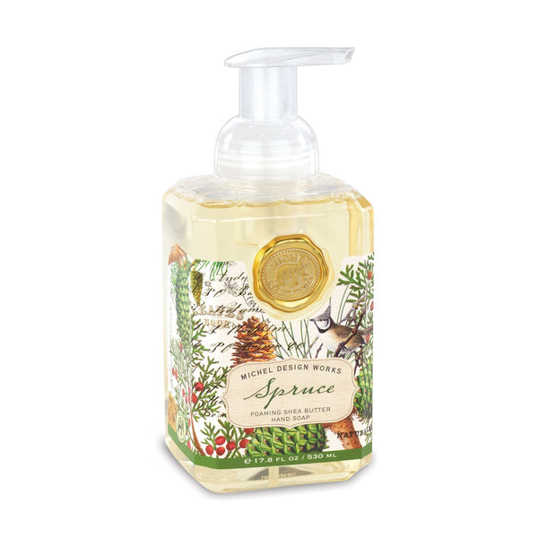 Michel Designs Spruce Foaming Hand Soap
