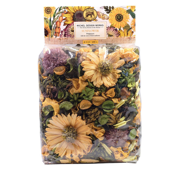 Michel Designs Sunflower Home Fragrance Potpourri