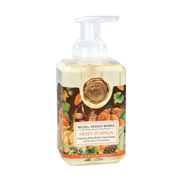 Michel Designs Sweet Pumpkin Foaming Hand Soap