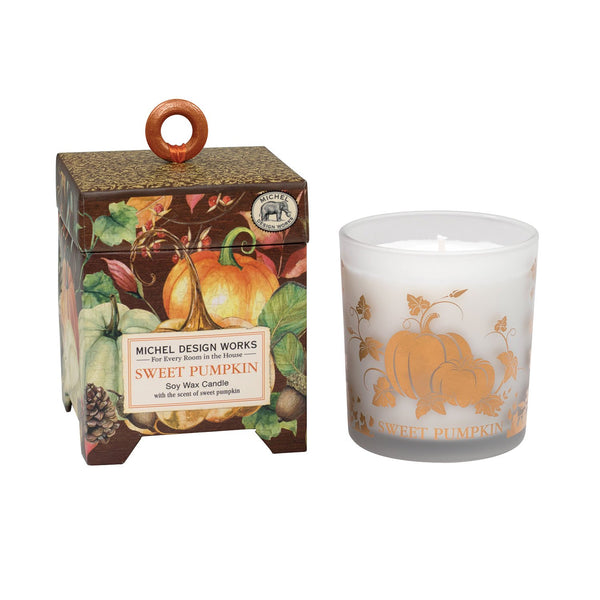 Michel Designs Sweet Pumpkin 6.5 oz Candle
