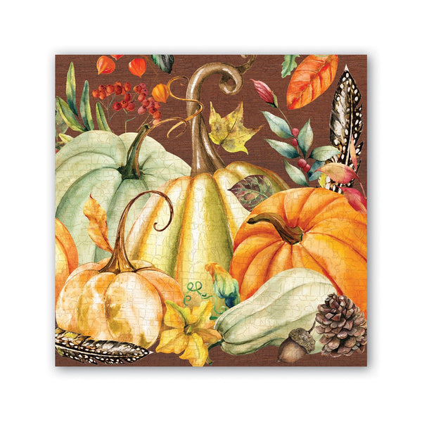 Michel Design Sweet Pumpkin Cocktail Napkin