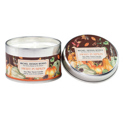 Michel Designs Sweet Pumpkin Travel Candle