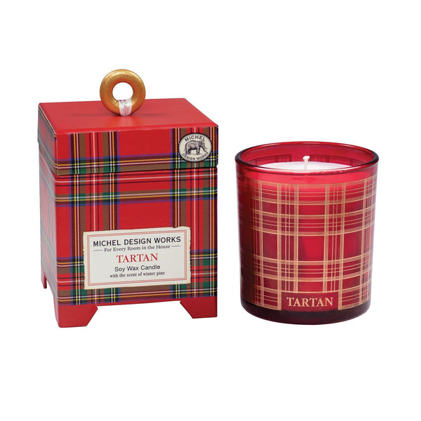 Michel Designs Tartan 6.5 oz. Soy Wax Candle