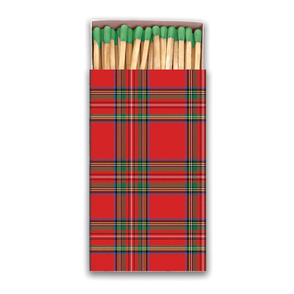 Michel Designs Tartan Matchbox