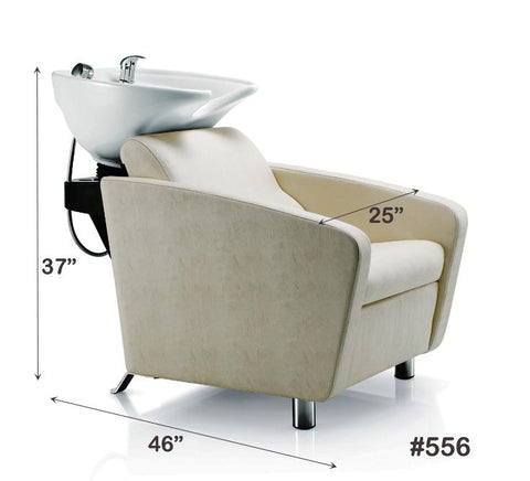 Image of 556 All-in-One Shampoo Unit (w/ Bowl) Shampoo Unit Elad Beauty