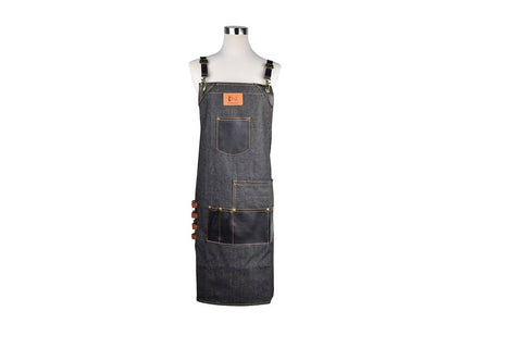 Premium Quality Denim Salon Barber Styling Apron Styling Apron SalonPro Equipment