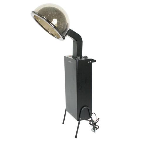 Image of SalonPro Standing Professional Ionic Hooded Hair Dryer w/ Rolling Wheel Kit Hair Dryer SalonPro Equipment