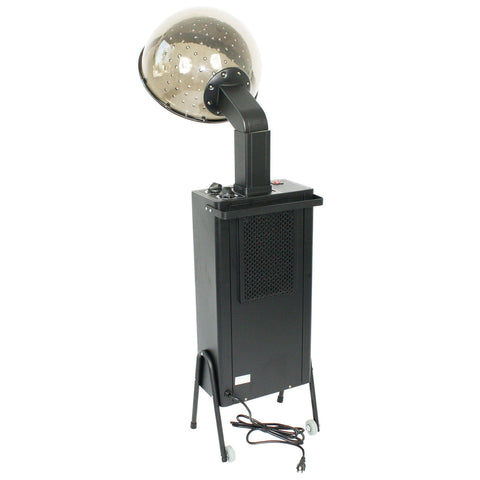 SalonPro Standing Professional Ionic Hooded Hair Dryer w/ Rolling Wheel Kit Hair Dryer SalonPro Equipment
