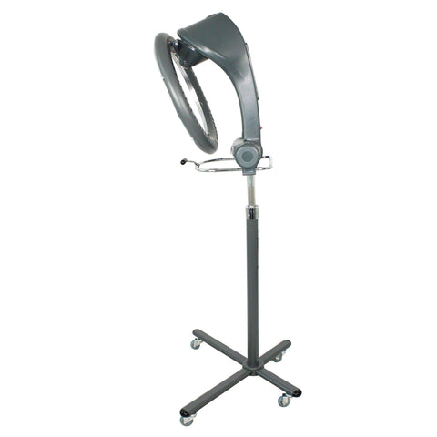 Image of SalonPro Orbiting Halo Infrared Hair Color Processor Dryer w/ Rolling Base