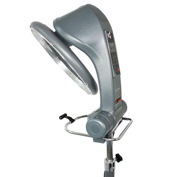 SalonPro Orbiting Halo Infrared Hair Color Processor Dryer w/ Rolling Base