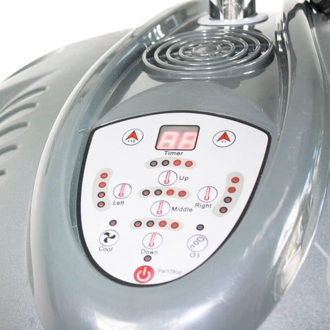 Image of SalonPro Multi-Zone+ Infrared Hair Color Processor Dryer Accelerator w/ Wall Mount System