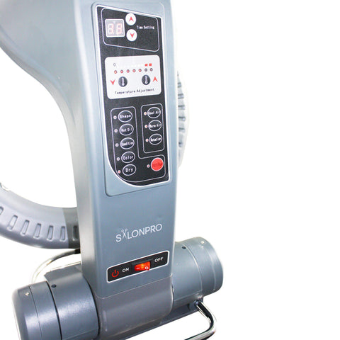 Image of SalonPro Orbiting Halo Infrared Hair Color Processor Dryer w/ Wall Mount System