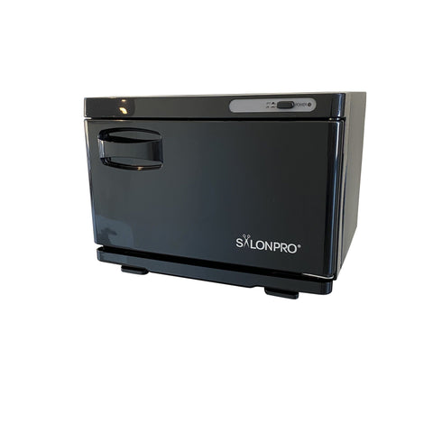 Image of SalonPro UV Mini Towel Warmer Cabinet in Black Towel Warmer Cabinet SalonPro Equipment