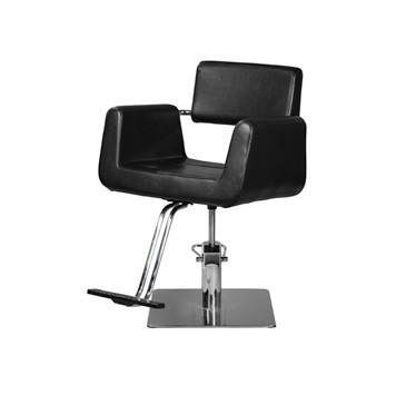 Image of Ikonna Professional Hair Styling Chair Black w/ Square Base Styling Chair YCC