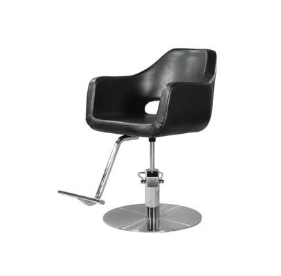 Image of Ikonna Professional Hair Styling Chair Black w/ Coin Base Styling Chair YCC