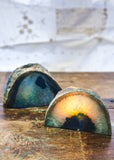 Agate Geode Candle Holder