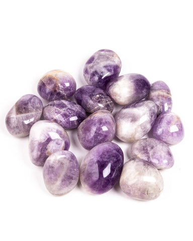 Banded Amethyst Palm Stone