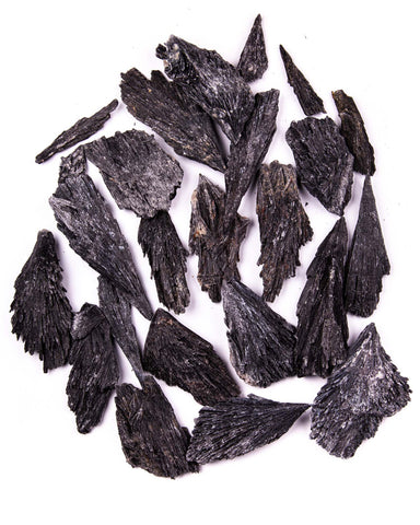Black Kyanite Blades