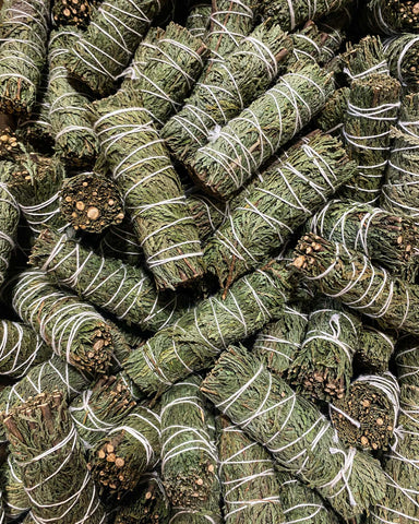 BULK SPECIAL - Cedar Smudge - 4 inch (Case of 100)